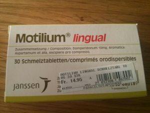 Drug Motilium